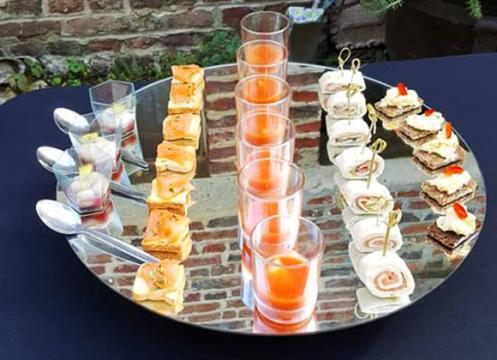 Service traiteur mariage, cocktail dînatoire Genape